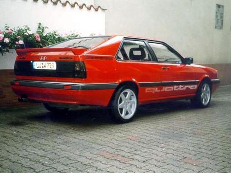 Audi Coupe Quattro Typ 85 Hansi